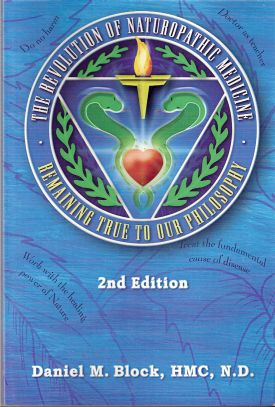 Naturopathic medicine book by Moshe Daniel Block ND